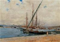 porto di antibes by antonio varni