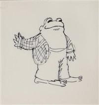 frog (sketch) by arnold lobel