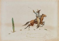 an arizona cowcatcher (+ 4 others; 5 works) by george king bourke