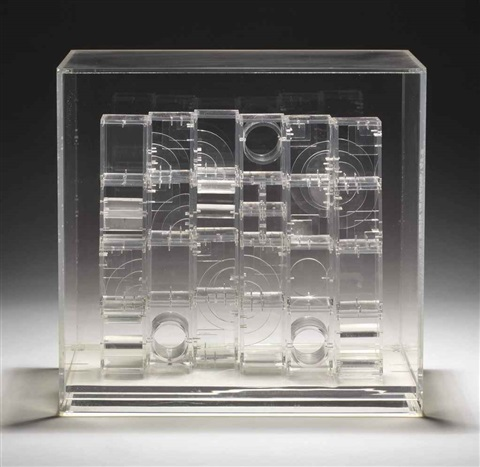 transparent sculpture iii by louise nevelson
