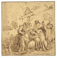 die versuchung des heiligen antonius by abraham teniers