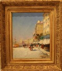 marseille, le vieux port by louis nattero