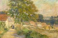 pastoral landscape by pauline palmer