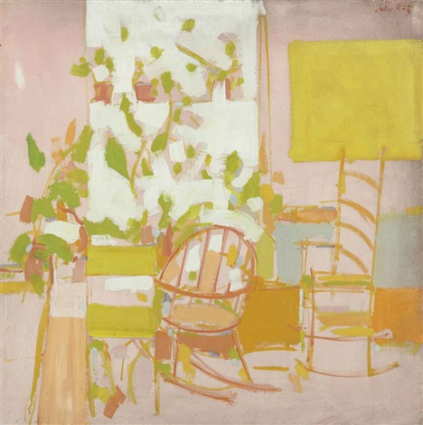 porch by alex katz
