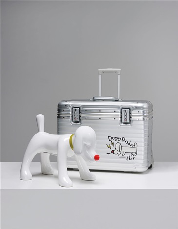 doggy radio x rimowa in 2 parts by yoshitomo nara