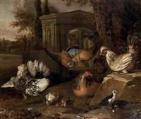 volatiles dans un paysage by pieter casteels iii