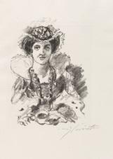 herbert eulenberg. anna boleyn (bk w/25 works) by lovis corinth