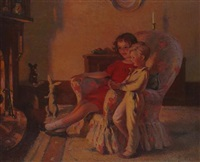 by the fireside by lancelot roberts