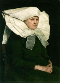 portrait of a nun by marta aronson-danzig