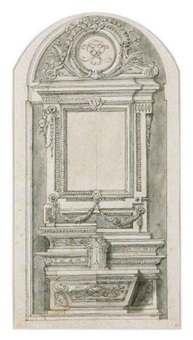 untitled (design for a tomb) by mauro antonio (maurino) tesi
