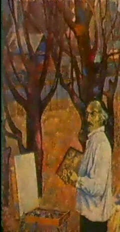 autoportrait a lautomne by farkhat sabirzyanov