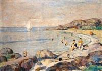 på stranden by sigurd fosnes