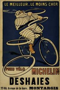 pneu vélo michelin - deshaies by h. l. roowy