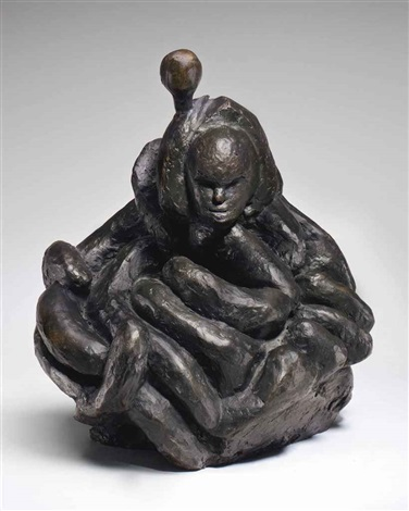 female portrait by louise bourgeois