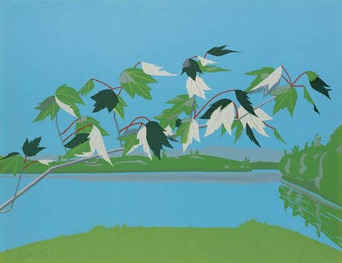 late july i by alex katz