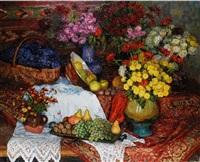 stilleben mit früchten by serafina senkevitch