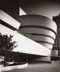 solomon r. guggenheim museum, new york by ezra stoller