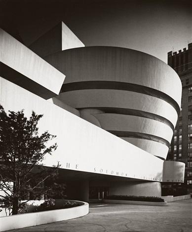 solomon r guggenheim museum new york by ezra stoller