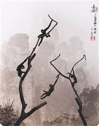 at play, tianzi mountains by don hong-oai