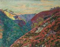 la vallée de la sédelle, crozant by armand guillaumin