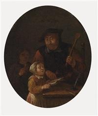 die gesangsstunde by egbert van heemskerck the elder