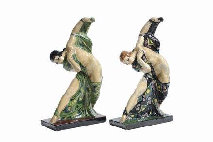 danzatrici (pair) by davide fabbri