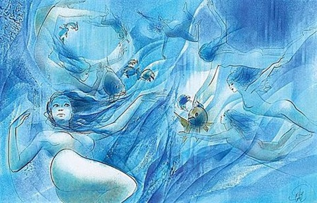 les nageuses by jean baptiste valadie