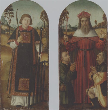 saint lawrence by french school avignon 16
