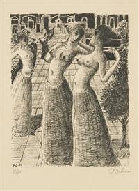 la danse by paul delvaux