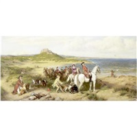 an elegant hunting party by henry hetherington emmerson