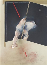 logique de la sensation (after study from the human body 1981) by francis bacon