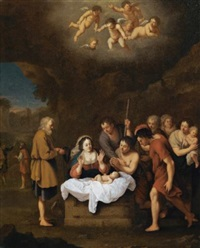 the nativity by johan van haensbergen