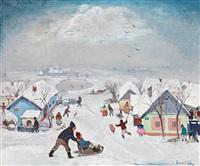 winter joys by antal jancsek