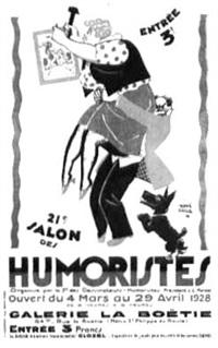 salon des humoristes by hervé baille
