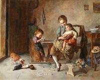 die jause by edmund adler