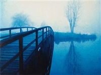 bridge in the fog by daphna arod