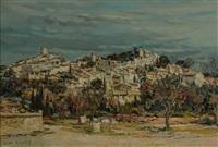 eygalières, le vieux village by jean rigaud