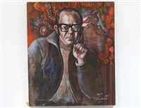 portrait of a mort by noel rockmore