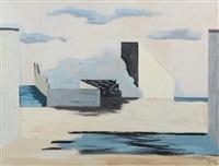 paysage cubisant by jean lurçat