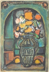 fleurs decoratives by georges rouault