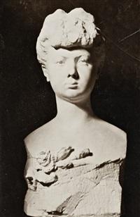 busto de una joven, c. 1905 by constantin brancusi