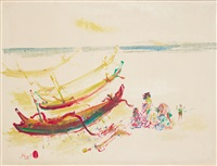 by the beach by rusli