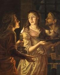 salomé portant la tête de saint jean baptiste by jürgen ovens