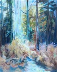 forest scene, shelton abbey by pauline merry