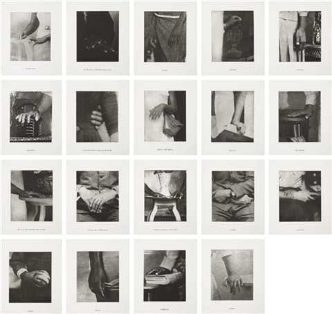 details set set of 21 by lorna simpson