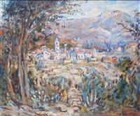 le village de mêla en corse by max agostini