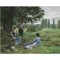 reapers resting by thérèse marthe françoise cotard-dupre