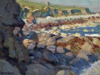 rocky coastal by paul dougherty