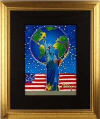 peace on earth by peter max