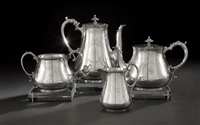 coffee and tea set (set of 4) by thomas smily